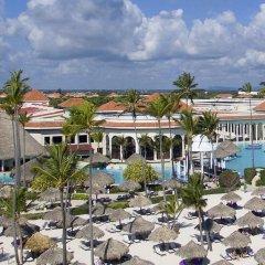 Отель Paradisus Palma Real Golf & Spa Resort All Inclusive Доминикана, Пунта Кана - 1 отзыв об отеле, цены и фото номеров - забронировать отель Paradisus Palma Real Golf & Spa Resort All Inclusive онлайн пляж фото 2