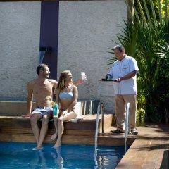 Отель Magic Blue Boutique Плая-дель-Кармен приотельная территория