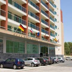Отель Monte Gordo Apartamento And Spa Монте-Горду парковка