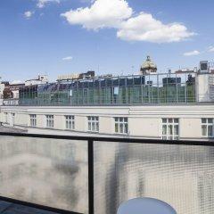 Апартаменты Premier Apartment Wenceslas Square I. Прага балкон