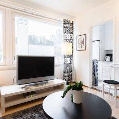 Отель Helsinki Apartment Kamppi Финляндия, Хельсинки - отзывы, цены и фото номеров - забронировать отель Helsinki Apartment Kamppi онлайн комната для гостей фото 3