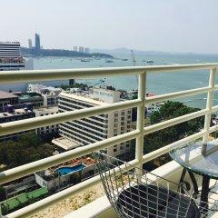 Отель View Talay 6 Condominium by Honey Таиланд, Паттайя - 1 отзыв об отеле, цены и фото номеров - забронировать отель View Talay 6 Condominium by Honey онлайн балкон
