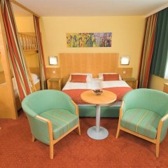 Отель Park Inn by Radisson Uno City Vienna Австрия, Вена - 4 отзыва об отеле, цены и фото номеров - забронировать отель Park Inn by Radisson Uno City Vienna онлайн комната для гостей фото 4
