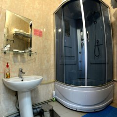 Гостиница Перекресток ванная фото 2