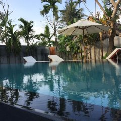 Отель Palm View Villa бассейн фото 2