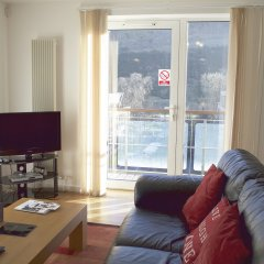 Отель Dreamhouse Holyrood Apartments Великобритания, Эдинбург - отзывы, цены и фото номеров - забронировать отель Dreamhouse Holyrood Apartments онлайн комната для гостей фото 5