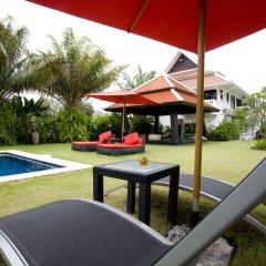 Отель Palm Grove Resort Таиланд, На Чом Тхиан - 1 отзыв об отеле, цены и фото номеров - забронировать отель Palm Grove Resort онлайн балкон