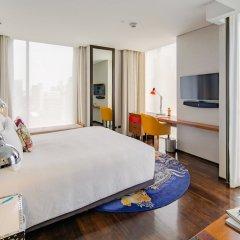Отель Indigo Bangkok Wireless Road Бангкок комната для гостей фото 2