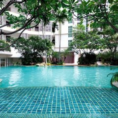 Отель Dusit Suites Hotel Ratchadamri, Bangkok Таиланд, Бангкок - 1 отзыв об отеле, цены и фото номеров - забронировать отель Dusit Suites Hotel Ratchadamri, Bangkok онлайн бассейн