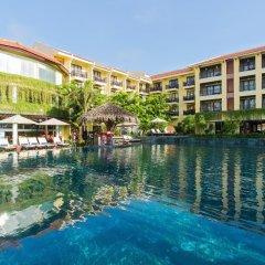 Отель Hoi An Silk Marina Resort & Spa Вьетнам, Хойан - отзывы, цены и фото номеров - забронировать отель Hoi An Silk Marina Resort & Spa онлайн бассейн