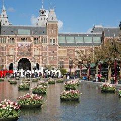 Отель Cityden Museum Square Hotel Apartments Нидерланды, Амстердам - отзывы, цены и фото номеров - забронировать отель Cityden Museum Square Hotel Apartments онлайн приотельная территория фото 2