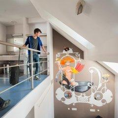 Jacques Brel Youth Hostel Брюссель в номере