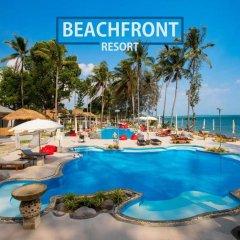 Отель Villa Cha-Cha Krabi Beachfront Resort Таиланд, Краби - отзывы, цены и фото номеров - забронировать отель Villa Cha-Cha Krabi Beachfront Resort онлайн бассейн