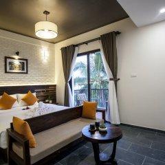 Отель Hoi An Silk River Villa комната для гостей фото 4