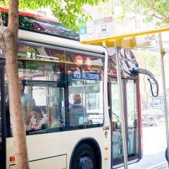 Отель Aparthotel Senator Barcelona городской автобус