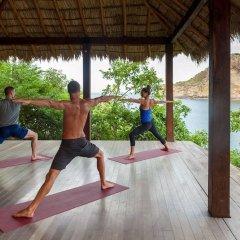 Отель Aqua Wellness Resort фитнесс-зал фото 4