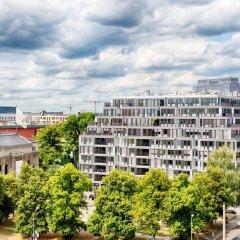 Отель Leonardo Mitte Берлин балкон