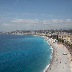 Hotel les Cigales пляж