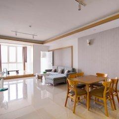 Отель SunEx Luxury Apartment Вьетнам, Вунгтау - отзывы, цены и фото номеров - забронировать отель SunEx Luxury Apartment онлайн комната для гостей фото 3