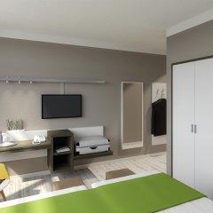 Отель Tulip Inn Muenchen Messe Мюнхен комната для гостей