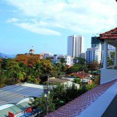 Отель Hanhcafe Hotel Вьетнам, Нячанг - отзывы, цены и фото номеров - забронировать отель Hanhcafe Hotel онлайн балкон фото 3
