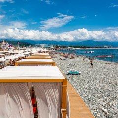Гостиница Mercure Rosa Khutor (Меркюр Роза Хутор) пляж