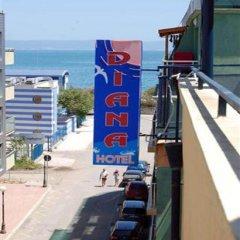 Family Hotel Diana Поморие балкон