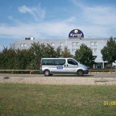 Comfort Hotel Aeroport Lyon St Exupery городской автобус