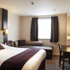 Отель Premier Inn Manchester City Centre - Portland Street Великобритания, Манчестер - отзывы, цены и фото номеров - забронировать отель Premier Inn Manchester City Centre - Portland Street онлайн комната для гостей фото 2
