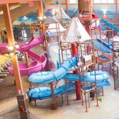 Отель Fort Rapids Indoor Waterpark Resort Колумбус бассейн фото 2