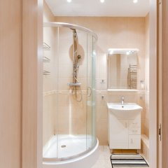 Апартаменты Design Apartment Budapeshtskaya 7 Санкт-Петербург ванная фото 2