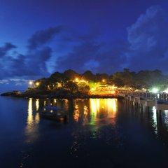 Отель Shari-La Island Resort пляж