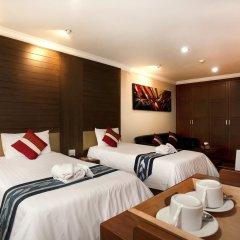 Отель Nida Rooms Silom Soi 12 Planet Бангкок в номере