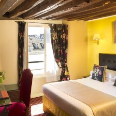 Отель Des Marronniers Париж комната для гостей фото 4