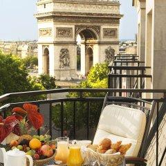 Radisson Blu Hotel Champs Elysées, Paris балкон