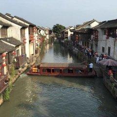 Отель Shantang Inn - Suzhou бассейн