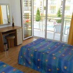 Отель Sun City Hotel Болгария, Солнечный берег - отзывы, цены и фото номеров - забронировать отель Sun City Hotel онлайн комната для гостей фото 5