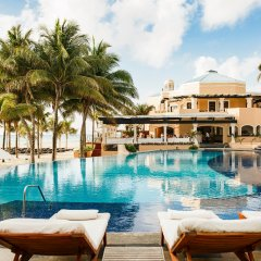 Отель Royal Hideaway Playacar All Inclusive - Adults only бассейн фото 2