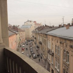 Отель British Club Львов балкон
