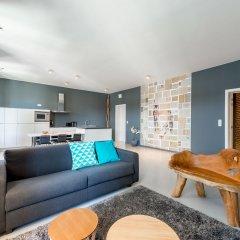 Отель Smartflats Design - Postiers Бельгия, Брюссель - отзывы, цены и фото номеров - забронировать отель Smartflats Design - Postiers онлайн комната для гостей фото 4