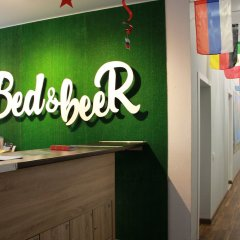 Хостел Bed&beer Москва интерьер отеля фото 3