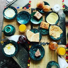 Отель Riad Clefs d'Orient Марокко, Марракеш - отзывы, цены и фото номеров - забронировать отель Riad Clefs d'Orient онлайн питание фото 3