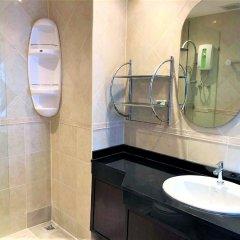 Апартаменты Top Floor Spacious Studio Паттайя ванная фото 2