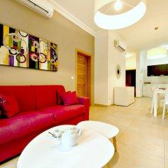 Отель Luxury Apartment With Pool Мальта, Слима - отзывы, цены и фото номеров - забронировать отель Luxury Apartment With Pool онлайн комната для гостей