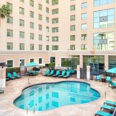 Отель Residence Inn by Marriott Las Vegas Hughes Center США, Лас-Вегас - отзывы, цены и фото номеров - забронировать отель Residence Inn by Marriott Las Vegas Hughes Center онлайн бассейн фото 3