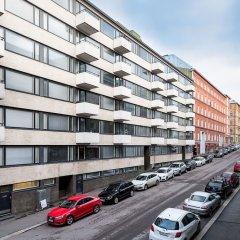 Апартаменты Aurora Apartments Pursimiehenkatu 25 парковка