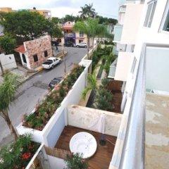 Отель La Papaya Plus 201 by Vimex Мексика, Плая-дель-Кармен - отзывы, цены и фото номеров - забронировать отель La Papaya Plus 201 by Vimex онлайн балкон