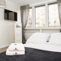 Отель Hosapartments City Center Польша, Варшава - 2 отзыва об отеле, цены и фото номеров - забронировать отель Hosapartments City Center онлайн комната для гостей фото 26