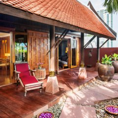 Sheraton Grande Sukhumvit, Luxury Collection Hotel, Bangkok вид на фасад