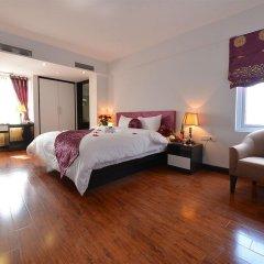 Отель Golden Sun Suites Hotel Вьетнам, Ханой - отзывы, цены и фото номеров - забронировать отель Golden Sun Suites Hotel онлайн комната для гостей фото 2
